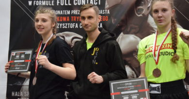 Sekcja kickboxingu GOSRiT Luzino – podsumowanie 2017 roku