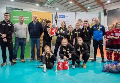 Ząbkovia Ząbki wygrywa w Sportbm/Kaszub Cup dziewcząt U-13