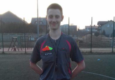 Oskar Marszał kolejnym sędzią piłkarskim z Luzina