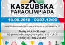 X Kaszubska Paraolimpiada – zapraszamy do udziału