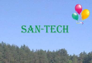10 urodziny firmy SAN-TECH- najserdeczniejsze życzenia dla naszego sponsora