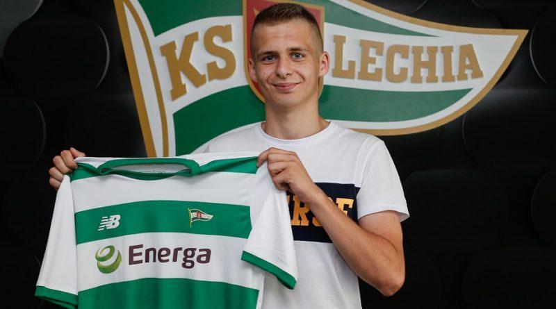 Junior Adrian Petk, mieszkaniec Zelewa w ekstraklasowej Lechii Gdańsk