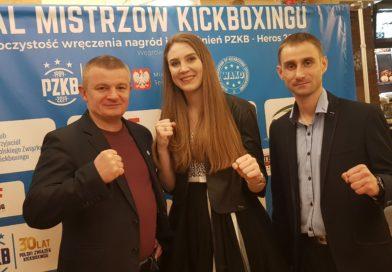 Paulina Stenka z GOSRiT Luzino zawodniczką roku kickboxingu