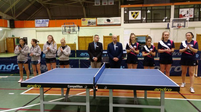 1 ligowe tenisitki stołowe MAR-BRUK ZRB GOSRiT Luzino zapraszają na kolejny mecz