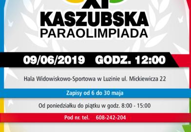 Przed nami XI Kaszubska Paraolimpiada