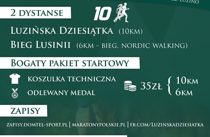 Zapraszamy do udziału w Luzińskiej 10