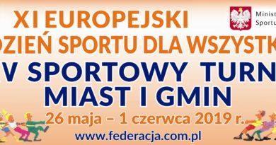 Gmina Luzino zgłosiła się do XXV Sportowego Turnieju Miast i Gmin w ramach XI Europejskiego Tygodnia Sportu dla Wszystkich