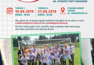 Beniaminek II ligi kobiet, GOSRiT Luzino ogłasza nabór