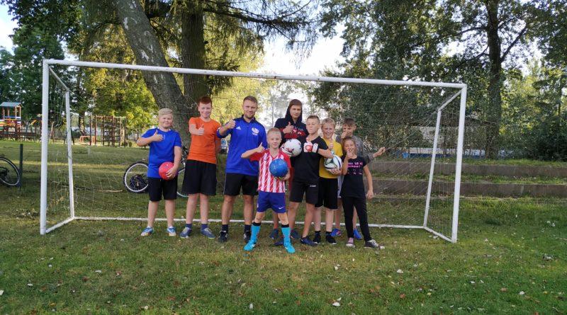 GOSRiT Luzino wznowił zajęcia sportowe w sołectwach gminy Luzino