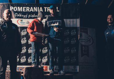 Zinkiel Jacek, Klas Bartłomiej pobiegli na 65 km. podczas Pomerania Ultra Maraton