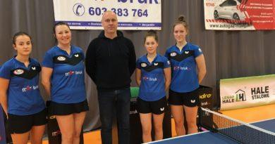 MAR-BRUK ZRB GOSRiT Luzino liderem 1 ligi tenisa stołowego kobiet!!!!