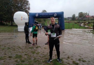 Piotr Kotłowski z GOSRiT Luzino najlepszy w swojej kategorii wiekowej podczas Pomerania Trail