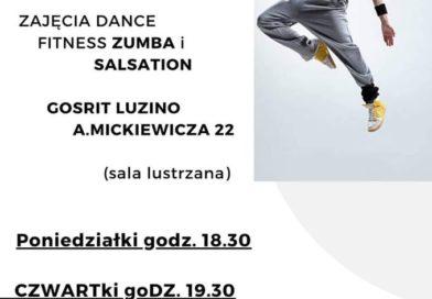 Zapraszamy do Hali GOSRiT na zajęcia Dance, Fitness, Zumba i Salsation