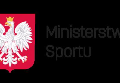 Ministerstwo Sportu dofinansowało nasz klub
