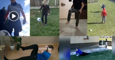 Za nami kolejny aktywny tydzień #zostańwdomu #trenujzrodzicem #piłkawdomu