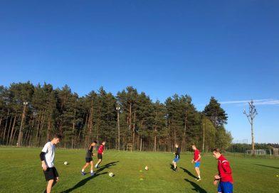 Trwa drugi tydzień treningów na boiskach gminy Luzino