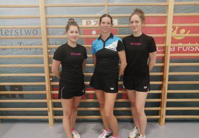 Ekstraklasowe tenisistki stołowe Mar-Bruk ZRB GOSRiT Luzino wznowiły treningi