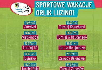 Sportowe WakacjeOrlik Luzino
