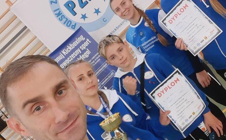 Julia Drewa Mistrzynią Polski w kickboxingu formuła kick light