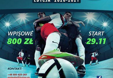 W najbliższy weekend zainauguruję Luzińska Liga Halowa 2020/21