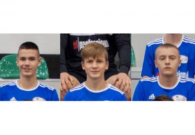 Trzech zawodników GOSRiT el professional Luzino zaproszonych na testy do Arki Gdynia