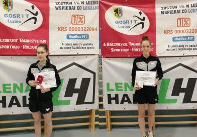 Katarzyna i Magda Płotka ukończyły kurs instruktora tenisa stołowego
