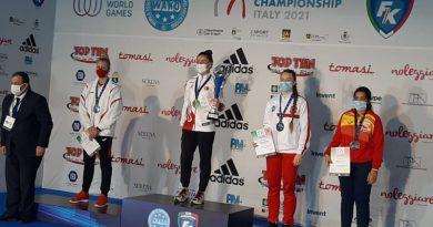 Paulina Stenka z brązowym medalem Mistrzostw Świata w kickboxingu